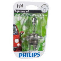 Phillips H4 LONGLIFE ECOVISION 12V 60/55W P43T-38