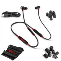ISOtunes XTRA v. 2 Red/black 352 Bluetooth støj-isolerende h
