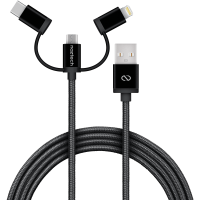 MFi Lightning Braided 3-in-1
