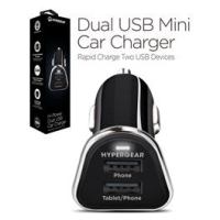 Hypergear Dual USB Mini Car Charger Sort