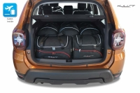 DACIA DUSTER 2017+ CAR BAGS SET 5 PCS