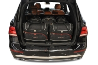 MERCEDES-BENZ GLE SUV 2015-2018 CAR BAGS SET 5 PCS