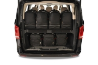 MERCEDES-BENZ M 2005-2011 CAR BAGS SET 5 PCS