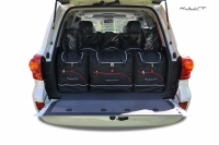 TOYOTA LAND CRUISER V8 2010-2017 CAR BAGS SET 6 PCS