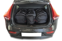 VOLVO V40 HATCHBACK 2012+ CAR BAGS SET 3 PCS